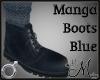 MM~ Manga Boots Blue