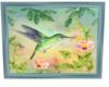Hummingbird and Flowers