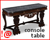!@ Console table