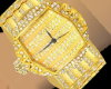 (B4) Gold Watch M