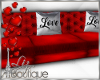 RED LOVE SOFA