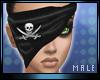 M * Pirate Bandana Male
