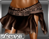 *L*Shakira Brown Skirt