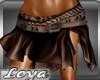 *L*Shakira Brown Skirt