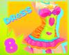 [80s] jelly dress