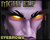 Night Elf Eyebrow Black