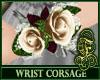 Wrist Corsage Ivory