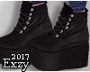 E! Black Boots.
