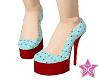 tgirl heart heels