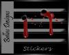 Bite Marks Sticker