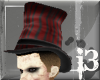 (13)Carnie Tophat Red