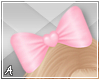 A  Pink Hair ♥ Bow