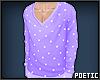 P|LilacDotSweater