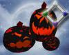 Hallow Black Pumpkins