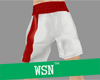 [wsn]boxing short#red