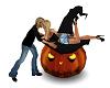 Haloween Pumpkin Kiss