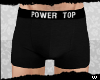 /w/ Power Top Boxers