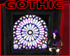 Gothic Glass Window Wall