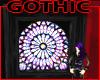 Gothic Glass Window Wall