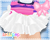 ❥White Fluffy Tutu