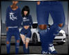 Da King Blue Jeans
