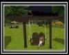chv garden wood swing