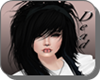 *D* Hair Emo Black