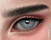 眉毛. Eyebrows black.