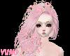 Pinku Flowers Braid Hair