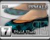 [BE] Blue Plaid|Flats F