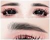 幸福. Korean Eyebrows