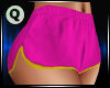 Karlie Shorts Pnk/Yellow
