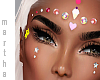 ( face jewels stickers )