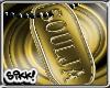 602 Soulja Gold DogTag