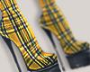 I│Platform Plaid Boots