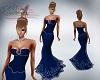 Katz~ Blue Corset Gown 1