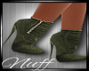 *NUFF* OLIVE BOOTIES