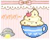 H+ Cafe Mocha Sticker!