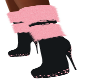 Pretty Pinky Pink Boots