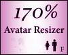 Avatar Resize Scaler 170