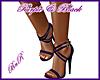 BnR Purple & Black Heels