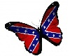 Rebel Flag Butterfly
