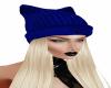 Blond Cobalt Beanie