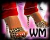 *WM* Leopard Mules
