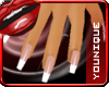 *Glossy French Manicure*