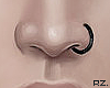 rz. Nose Piercing Black