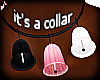 just a 3 bell collar