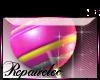 *R* Lollipop Sticker