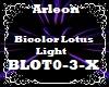 Bicolor Lotus Light