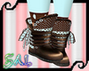Choco Mint Boots